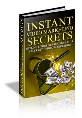 Product picture Instant Video Marketing Secrets-Video Marketing Secrets